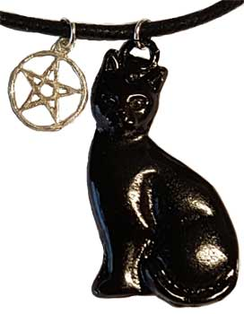 Black Cat & Pentagram