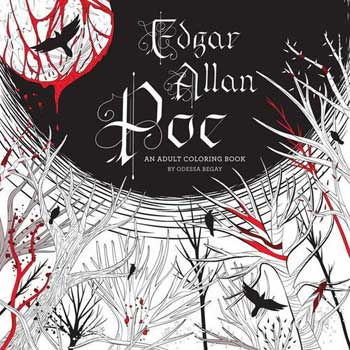 Edgar Allen Poe coloring book