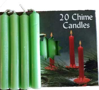 Apple Green Chime candle 20pk