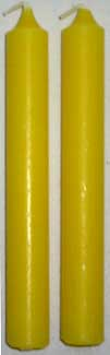 Yellow Chime Candle 20pk