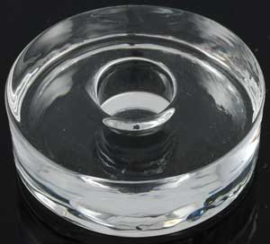 Glass Round Chime holder
