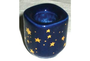 Cobalt Ceramic Starry holder