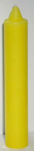 "9"" Yellow pillar"