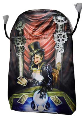 Steampunk tarot bag