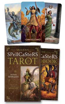 Modern Spellcaster's tarot (deck and book) by Marquis & Murphy