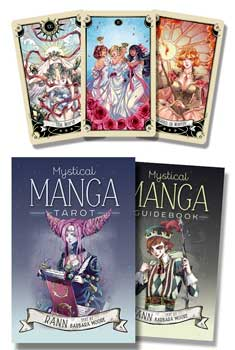 Mystical Manga tarot deck & book by Rann & Moore