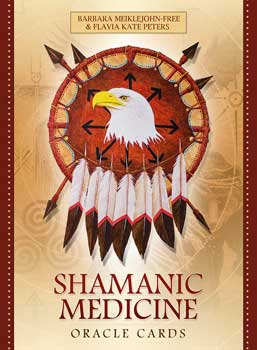 Shamanic Medicine oraclke cards by Meiklejohn-Free & Peters