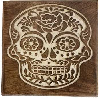 "6"" x 6"" Day of the Dead box"