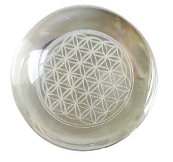 55mm Flower of Life Crystal ball