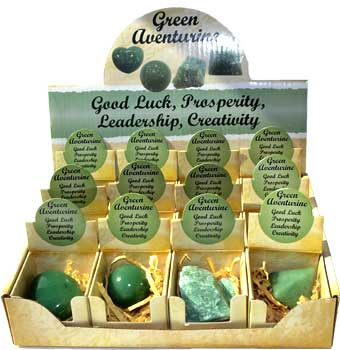 Aventurine, Green gift box (set of 12)