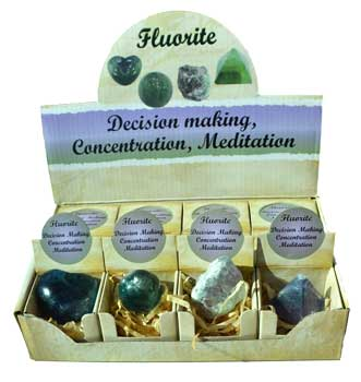 Fluorite gift box (set of 12)