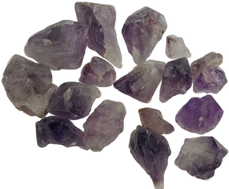 1 lb Amethyst points