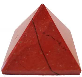 25-30mm Jasper, Red pyramid