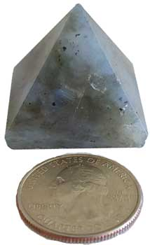 25-30mm Labradorite pyramid