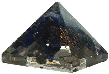 25-30mm Orgonite Lapis pyramid