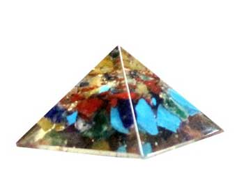 25-30mm Orgone Mixed pyramid