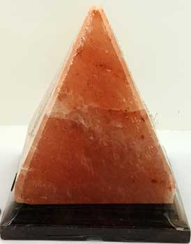 "6"" Pyramid Salt Lamp (c)"