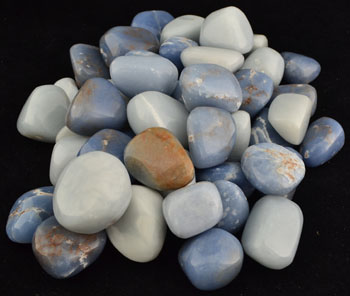 1 Lb Angelite tumbled