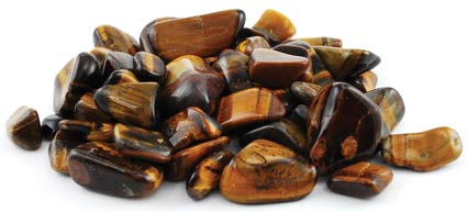 1 Lb Tiger Eye tumbled