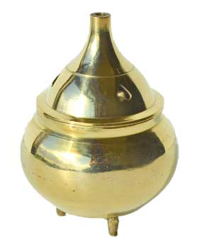 "1 3/4"" Heart brass burner"