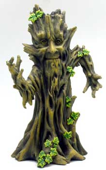 "11"" Happy Tree incense holder"