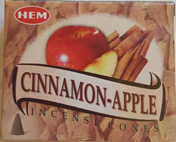 Cinnamon-Apple HEM cone 10 pack
