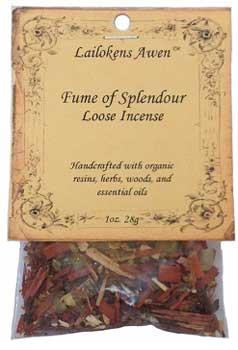 21g Fume of Splendour Lailokens Awen incense
