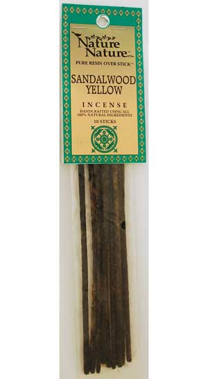 Sandalwood Yellow stick 10pk