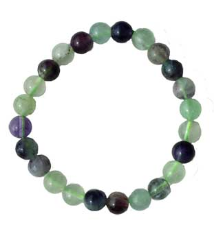 8mm Flourite, Rainbow