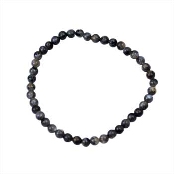 4mm Labradorite stretch bracelet