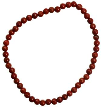 4mm Red Jasper stretch