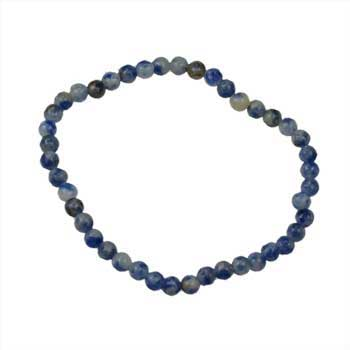 4mm Sodalite stretch bracelet