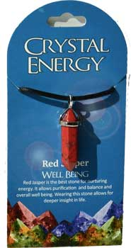 Well Being (red jasper) double terminated