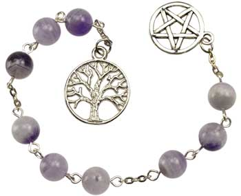 Amethyst prayer beads