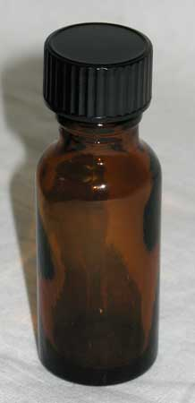 .5oz Amber Glass Bottle
