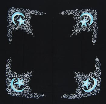 "Celtic Moon cloth 36"" x 36"""