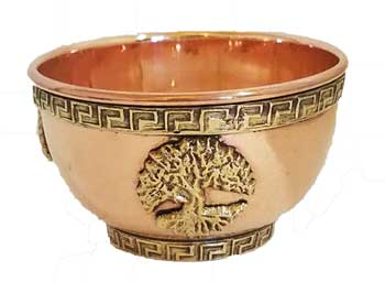 "3"" Tree of Life Offering Bowl"