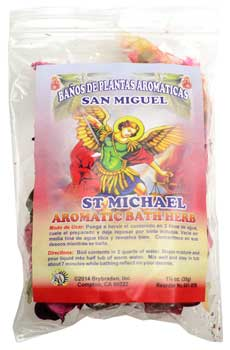 St Michael bath herb