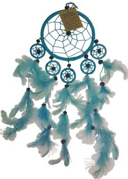 "5"" Light Blue dream catcher"