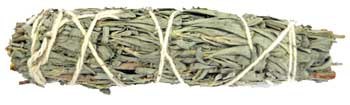 "4"" Sage & Myrrh smudge stick"