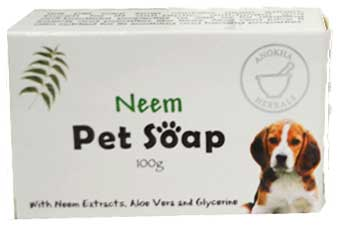 100g Neem Pet soap