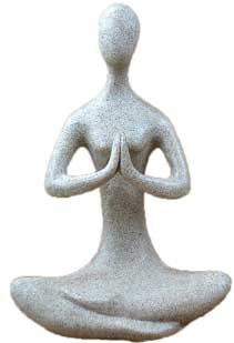 "8"" Meditative Yoga Goddess"