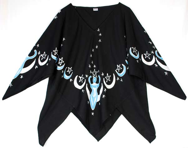 Moon Goddess Large Top black