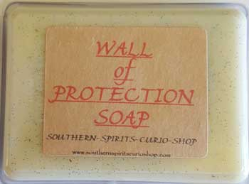 2.5oz Wall of Protection soap